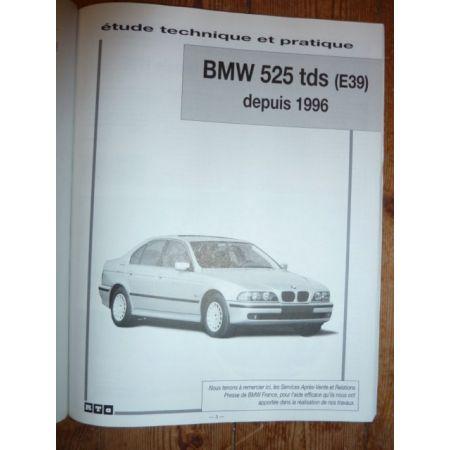 525tds E39 96- Revue Technique Bmw