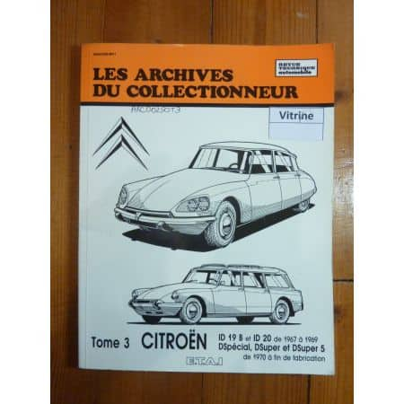 ID19 ID20 Revue Technique Les Archives Du Collectionneur Citroen