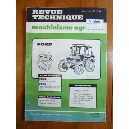 2610 à 4610 Revue Technique Agricole Ford