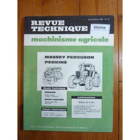 2620 2640 2680 2720 Revue Technique Agricole Massey Ferguson