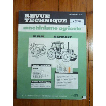 95 a 133 TX - TS Revue Technique Agricole Renault