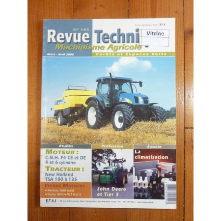Serie TS 100 a 135 Revue Technique Agricole New Holland