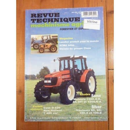 Silver 80 90 100 Revue Technique Agricole Same