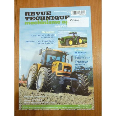 Cooperative Rtma 130 Ts 80 90 100 110 Revue Technique Tracteur Agricole New Holland Manuels, Revues, Catalogues Agriculture