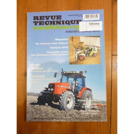 6235 a 6290 Revue Technique Agricole Massey Ferguson
