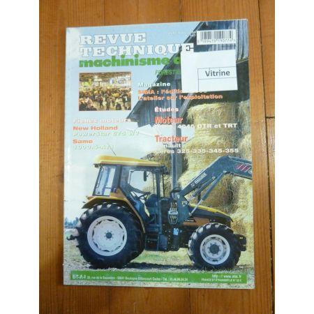Ceres 325 a 355 Revue Technique Agricole Renault