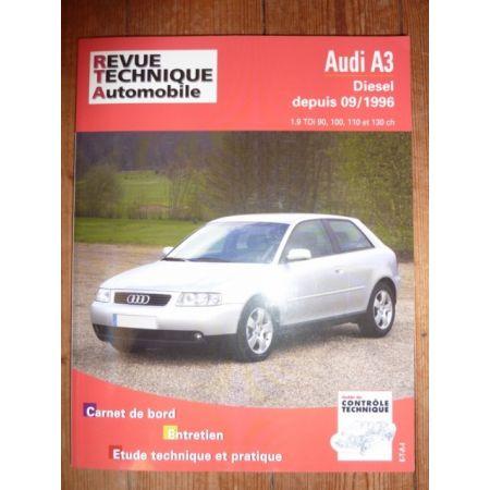 A3 96- Revue Technique Audi
