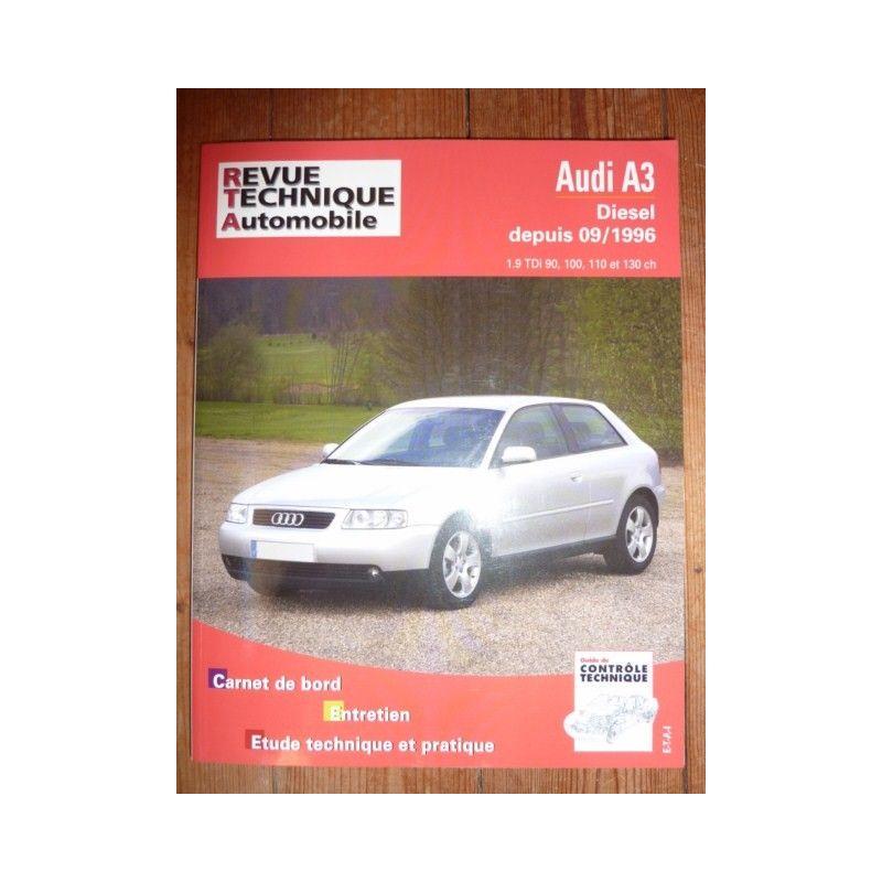 rta revue technique audi a3 diesel depuis 09 1996 1 9 tdi 90 100 110 et 130 ch. Black Bedroom Furniture Sets. Home Design Ideas