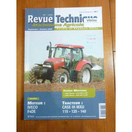 115 125 140 Revue Technique Agricole IH
