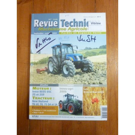 TN 60 70 75 DA SA Revue Technique Agricole New Holland