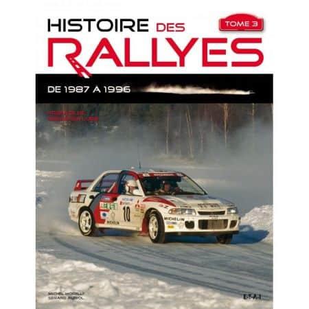 Rallyes de 1987 à 1996 -  Livre