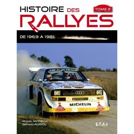 Rallyes de 1969 à 1986 -  Livre