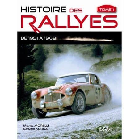 Rallyes de 1951 à 1968 -  Livre