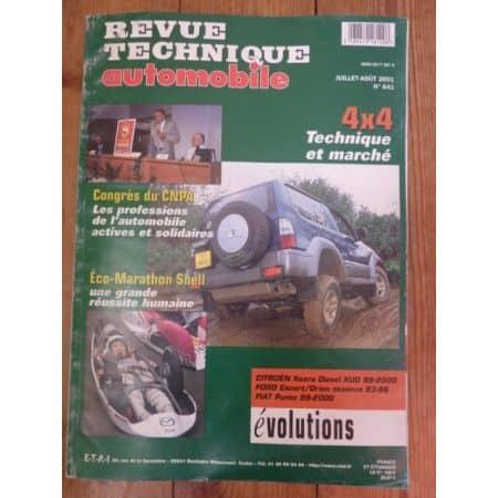 RTA0641 Revue technique 4x4 TECHNIQUES et MARCHE