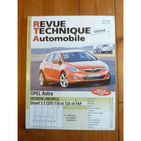 Astra 10-12 Revue Technique Opel