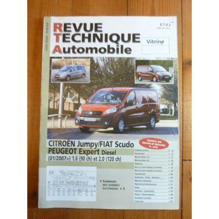 Jumpy, Scudo, Expert D 07- Revue Technique Citroen FIAT PEUGEOT