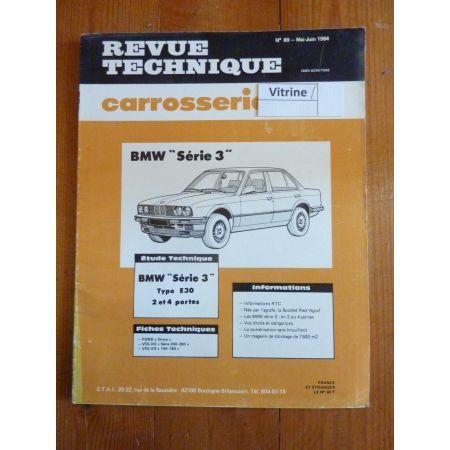 carrosserie BMW Série 3 E30 2 et 4 portes RTC0089C