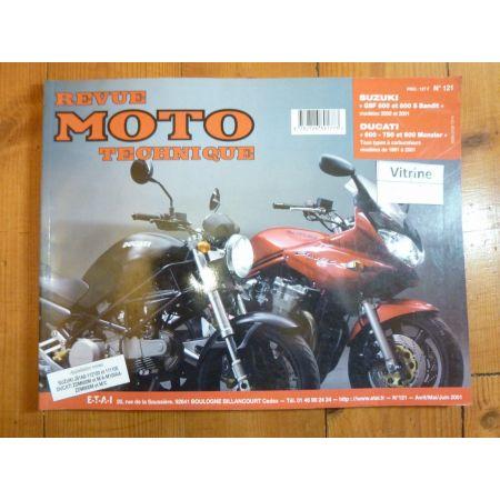 Monster Bandit Revue Technique moto Ducati Suzuki