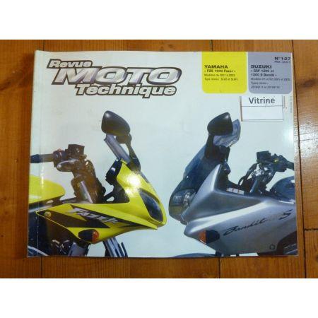 1200 bandit 1000 Fazer Revue Technique moto Suzuki Yamaha
