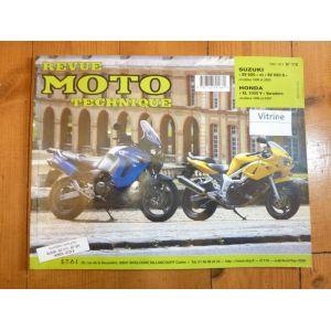 SV650 Varadero Revue Technique moto Honda Suzuki