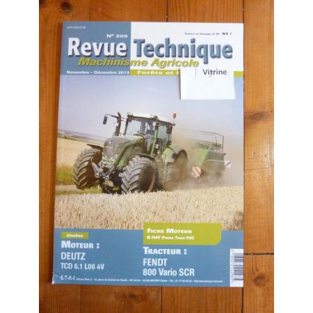 800 Vario Revue Technique Agricole Fendt