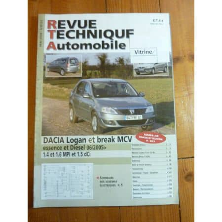 Logan - MCV 05- Revue Technique Dacia