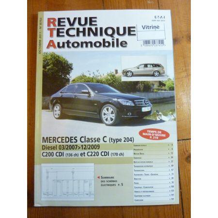 Classe C 07-09 Revue Technique Mercedes
