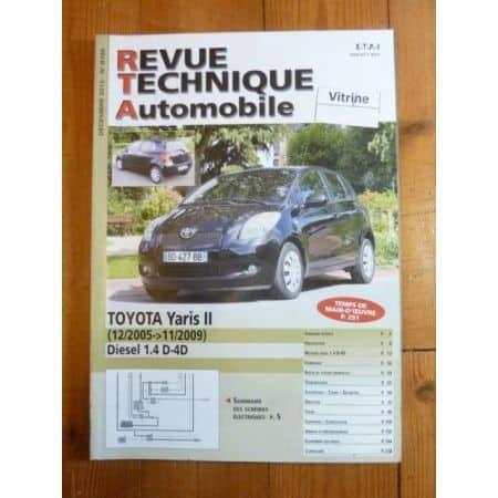 Yaris II 05-09 Revue Technique Toyota
