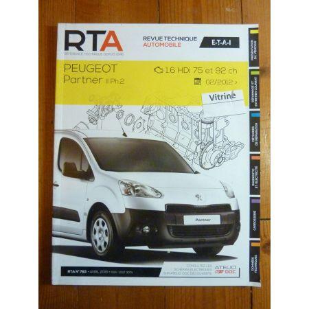 Partner 2 Ph II 02/12-Revue Technique Peugeot