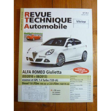 Giulietta 10-13 Revue Technique ALFA