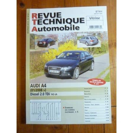 A4 2.0d 08- Revue Technique Audi