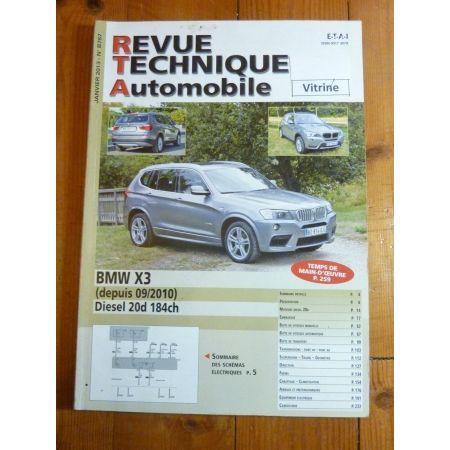 X3 D 10- Revue Technique BMW
