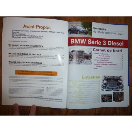 RRTAB0712.5 Revue technique BMW SERIE 3 (E90/E91) Diesel depuis 03/2005 318d 122cv, 320d 163ch, 330d 231cv