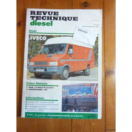 Daily Die TD II 89- Revue Technique Iveco Daf