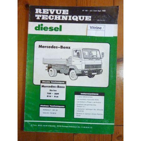 709 809 814 914 Revue Technique PL Mercedes