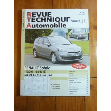 Scenic 11-13 Revue Technique Renault