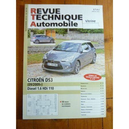 DS3 09- Revue Technique Citroën