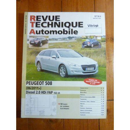 508 11- Revue Technique Peugeot
