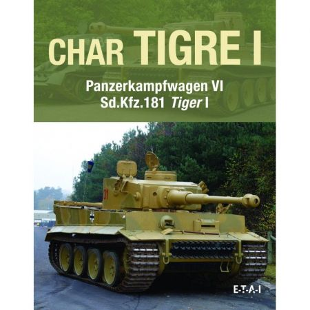 Char Tigre Panzerkampfwagen VI - Livre
