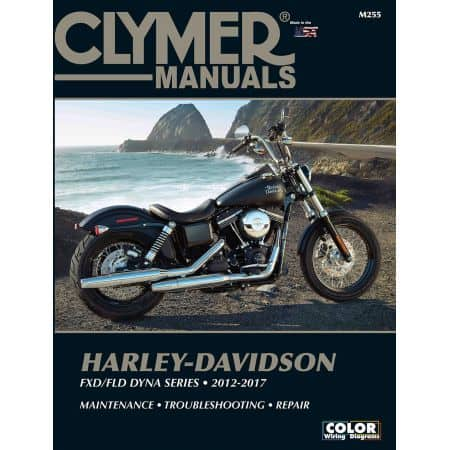 Dyna Series 12 -17 Revue technique Clymer HARLEY Anglais