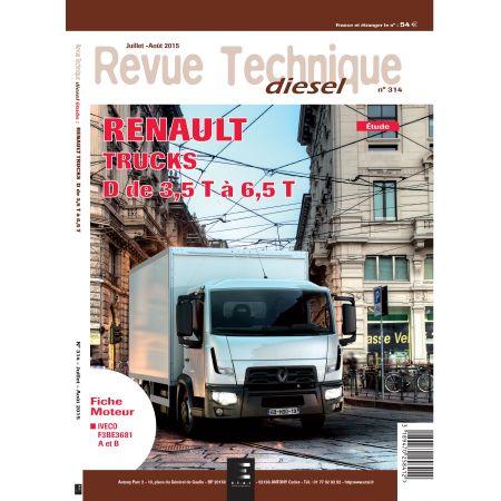 Serie D 3.5T - 6.5T Revue Technique Renault