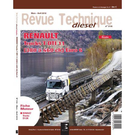 Serie T DTI 11 Revue Technique Renault
