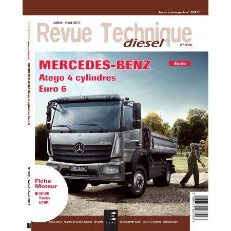 Atego 4 cyl OM934 Revue Technique Mercedes