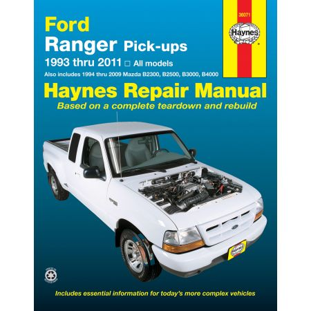 Ranger B2300 a B4000 93-11 Revue Technique Haynes FORD MAZDA Anglais