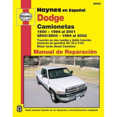 1500 94-01 2500 3500 94-02 Revue Technique Haynes DODGE Espagnol