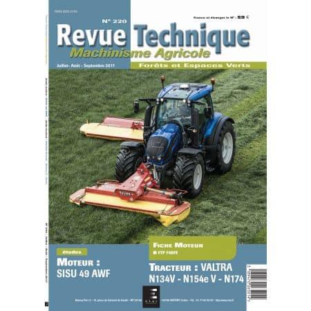 N134V-N154eV-N174 Revue Technique Agricole Valtra