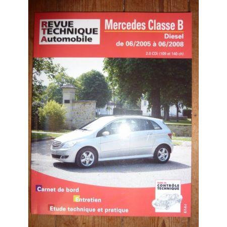 Classe B 05-08 Revue Technique Mercedes