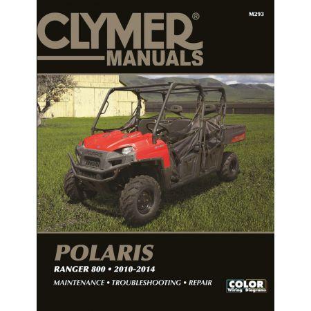 Ranger 800 10-14 Revue technique Clymer POLARIS Anglais