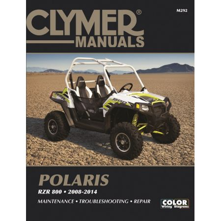 RZR 800 08-14 Revue technique Clymer POLARIS Anglais