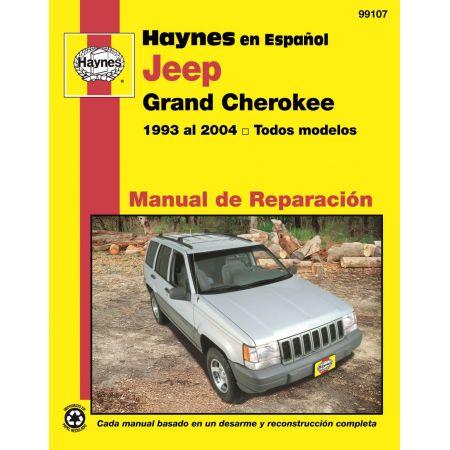 Grand Cherokee 93-04 Revue technique Haynes JEEP Espagnol